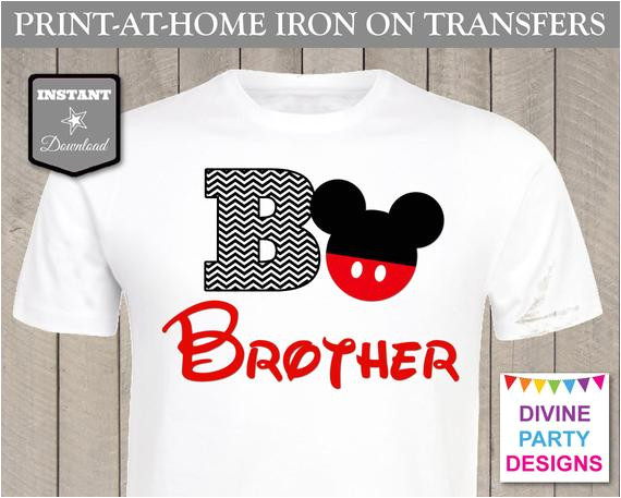 instant download print home mouse brother