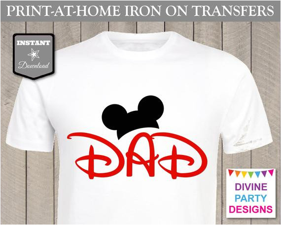 instant download printable mickey mouse inspired
