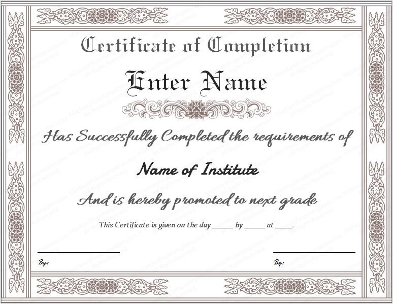 www certificatestemplate com