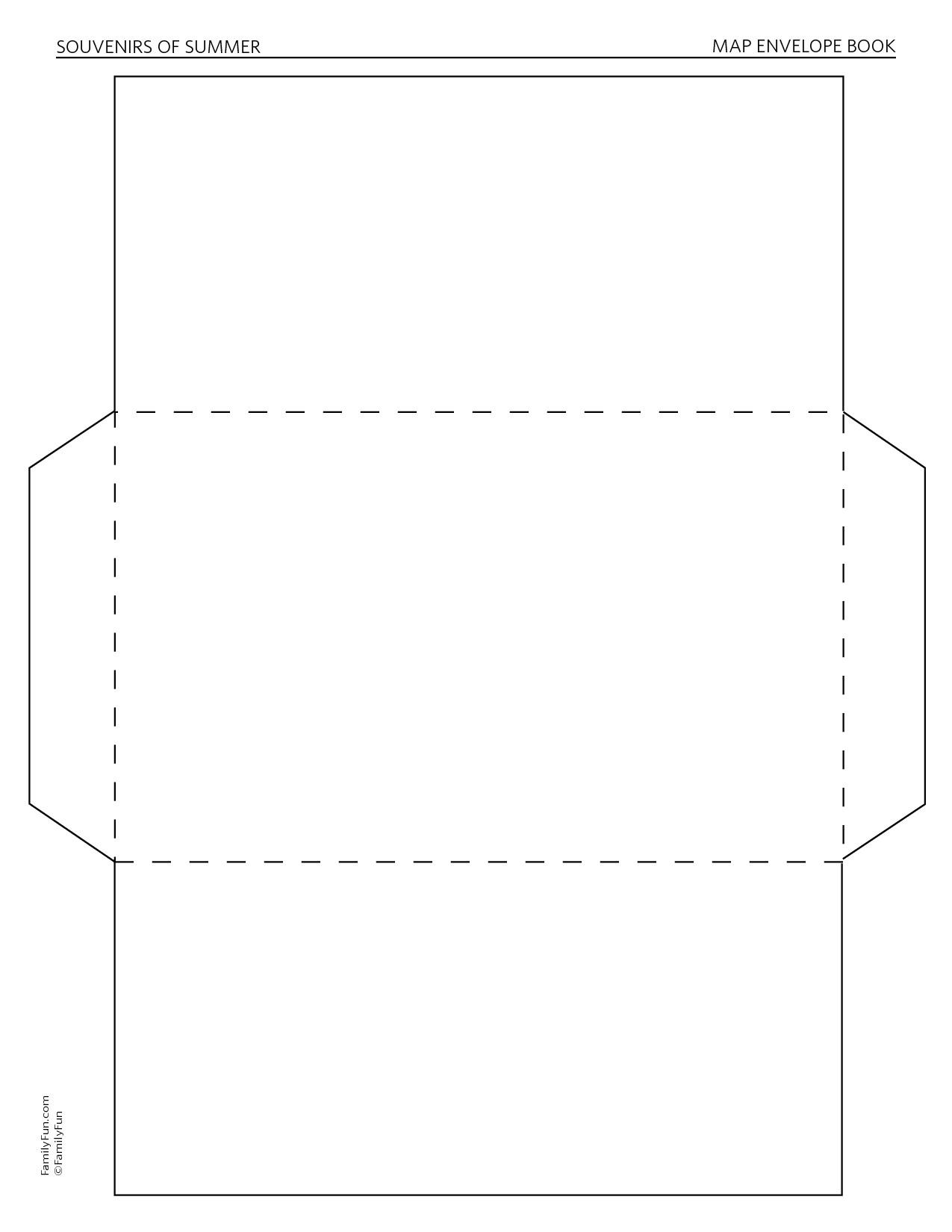 post easy envelope template 43587