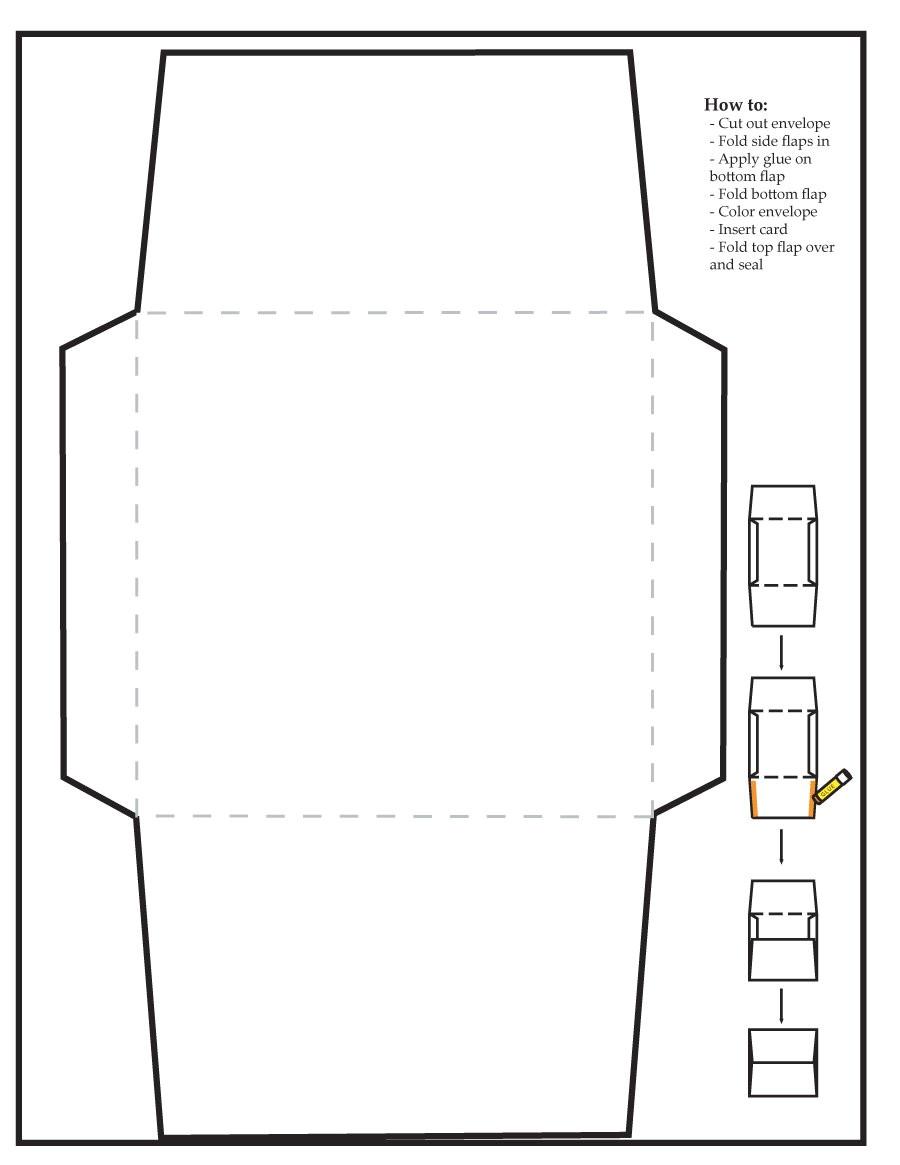 envelope templates