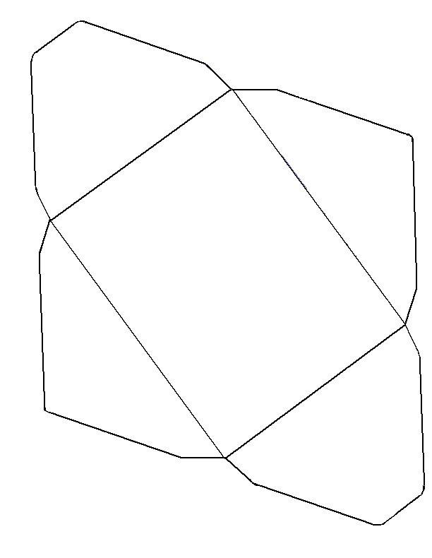 envelope template 1431