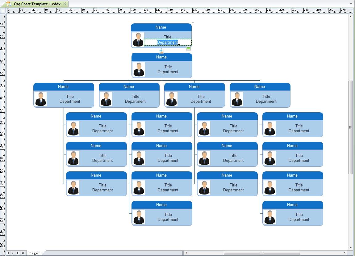 organization chart template
