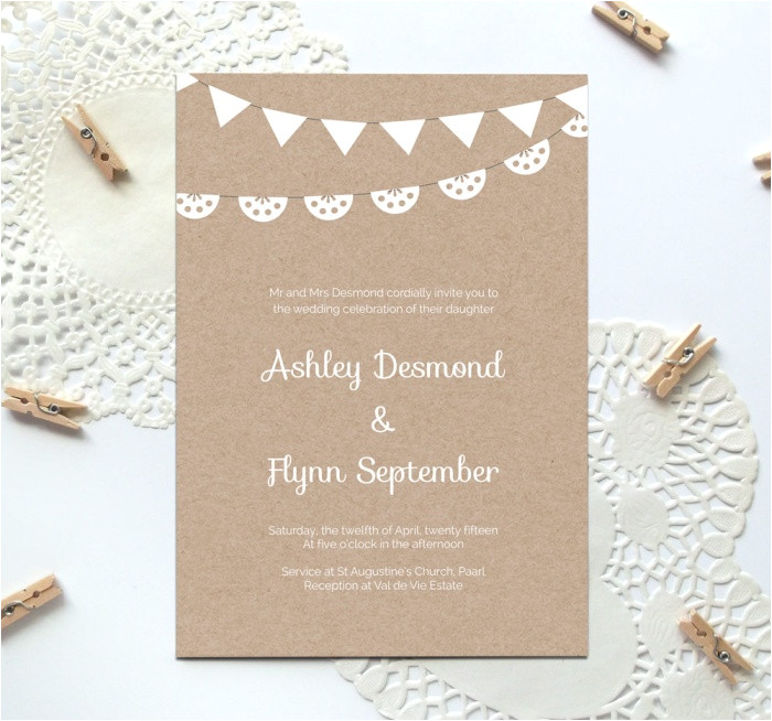 Free Templates for Wedding Invitations to Print Free Printable Wedding Invitation Template