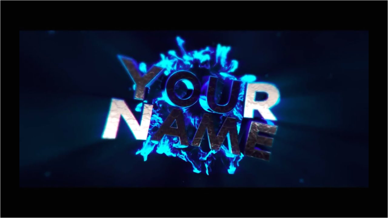 Free Video Intros Templates Free Text Smash Intro Template 46 Cinema 4d after