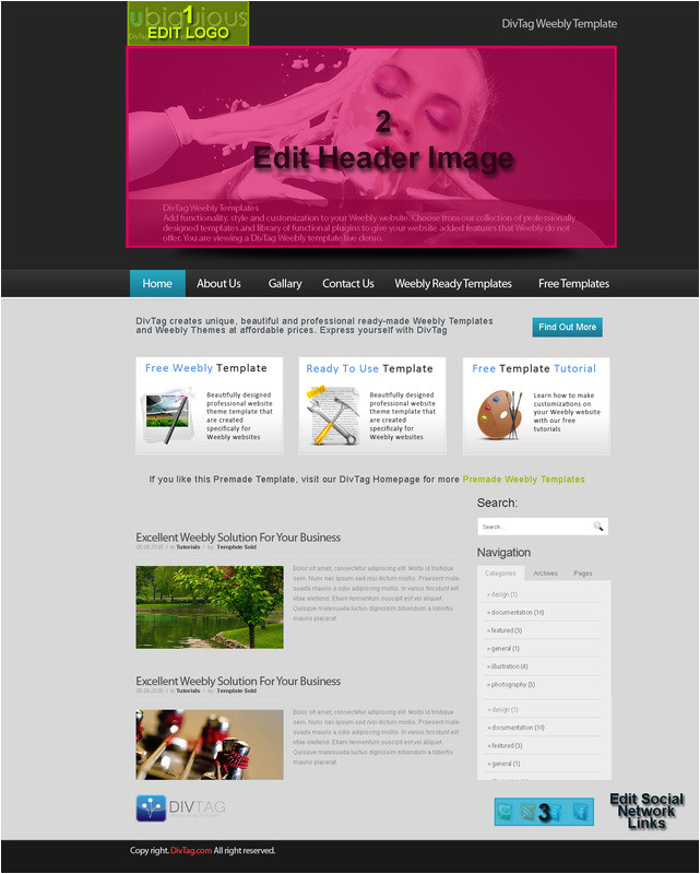 Free Weebly themes and Templates Premium Weebly Templates and Weebly themes HTML Autos Weblog