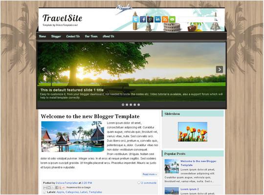 Free Xml Templates for Blogger Ple 39 S Blog 45 theme Sẵn Cực đẹp Cho Blogspot