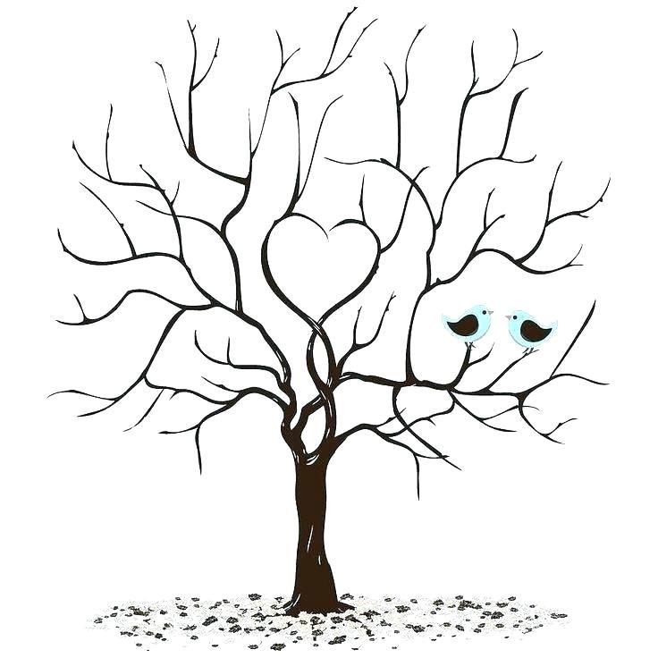 thumbprint tree printable