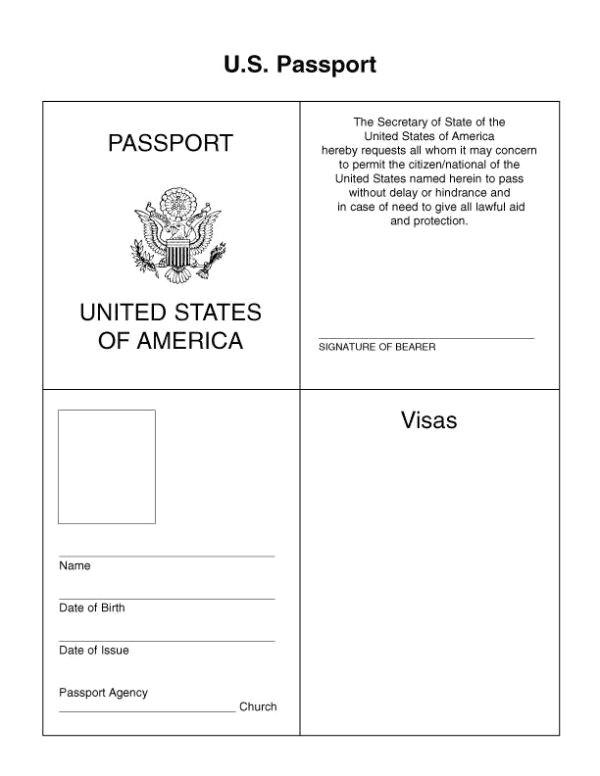 Fun Passport Template Best 25 Passport Template Ideas On Pinterest Passports