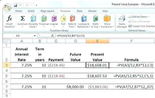 Future Value Excel Template Future Value Excel Template Excel Annuity Physic