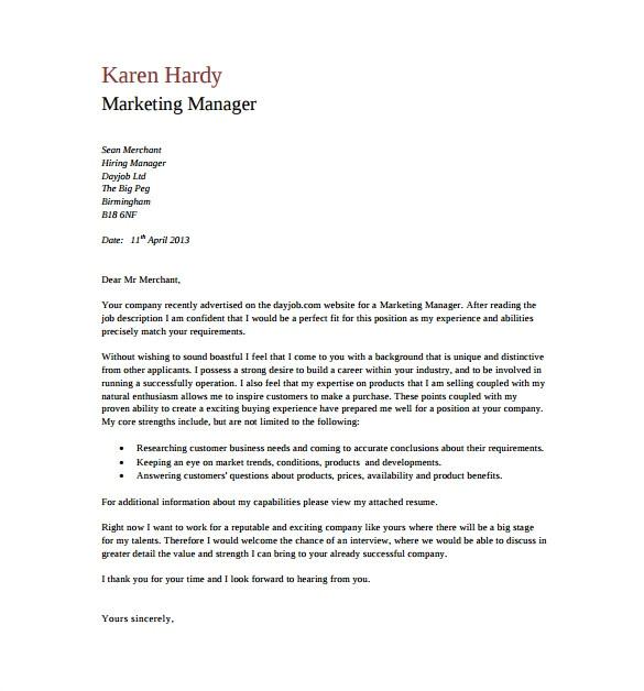 general cover letter 2