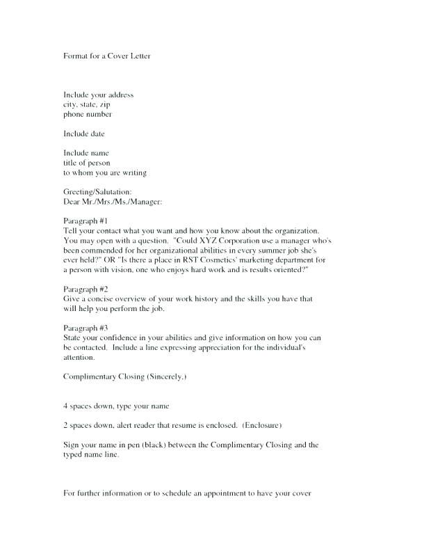 generic letter salutation
