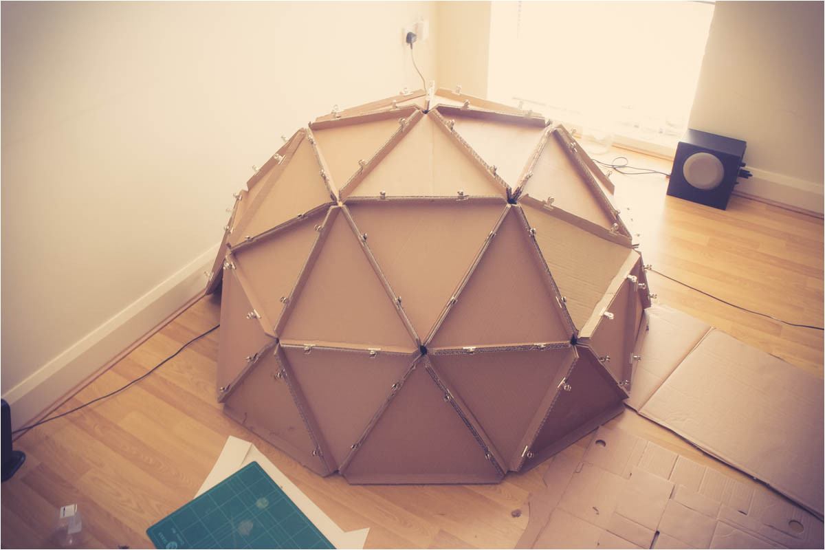 diy dome building a geodesic monodome