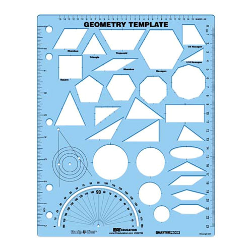 Geometry Template Everyday Mathematics Geometry Template Manip U View Common Core State
