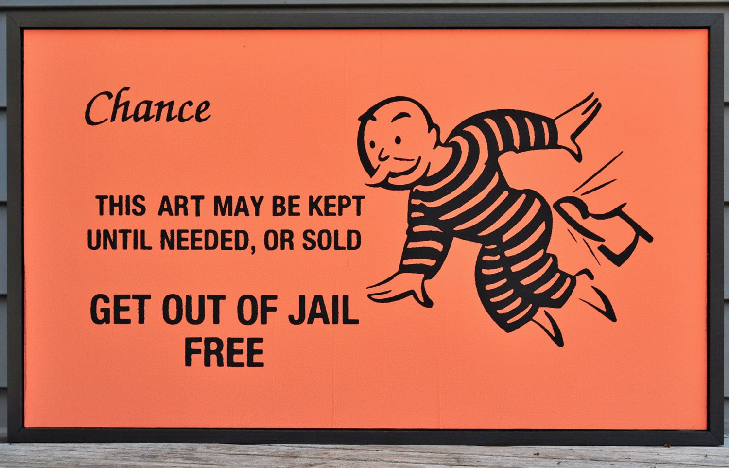 framed get out of jail free monopoly