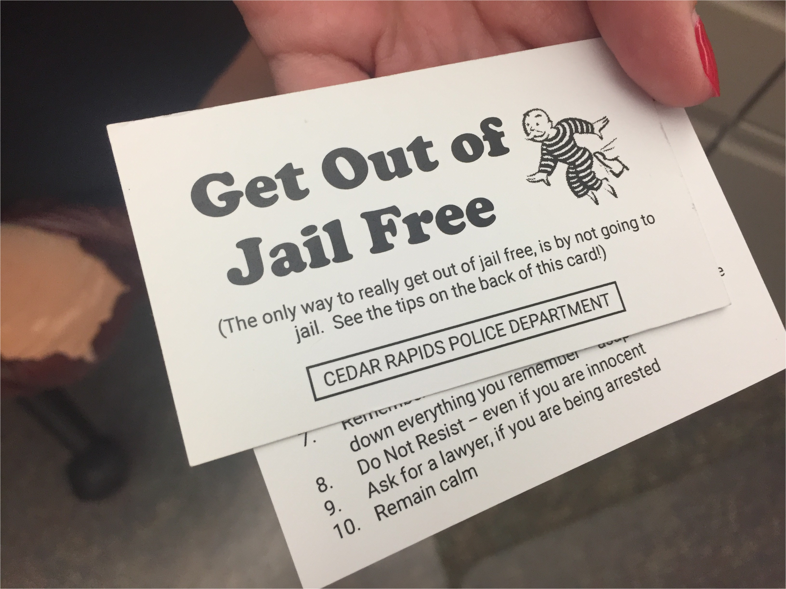get out of jail free card template