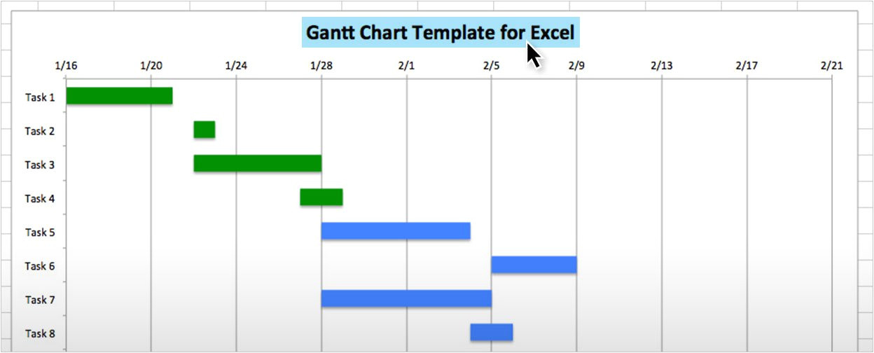 Ghant Chart Template Use This Free Gantt Chart Excel Template
