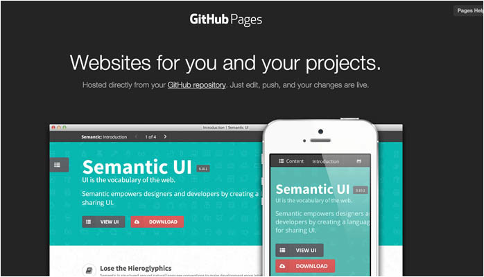 Github Pages Templates Startup Resources Design Hello Startup A Programmer 39 S