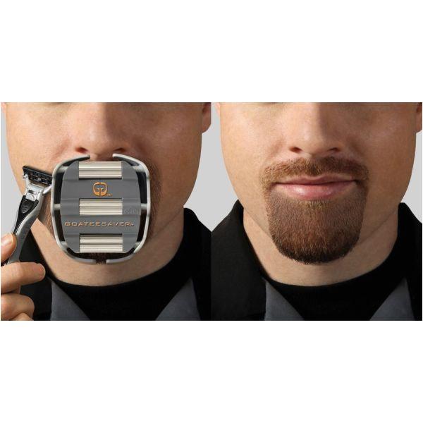goatee shaving template for men