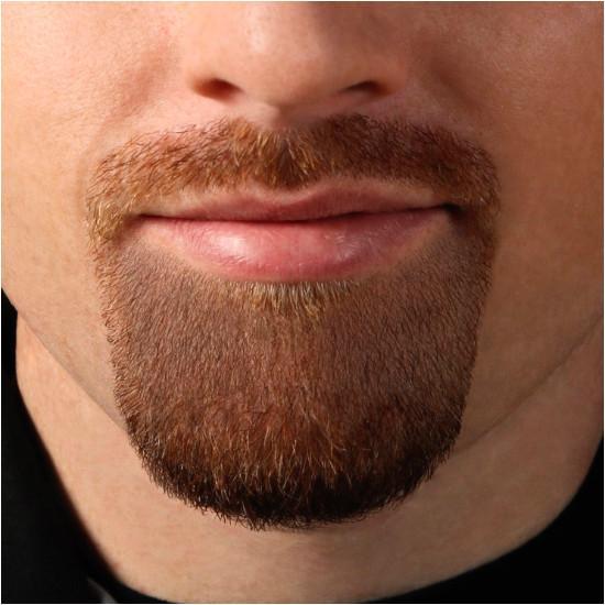 goatee shaving template