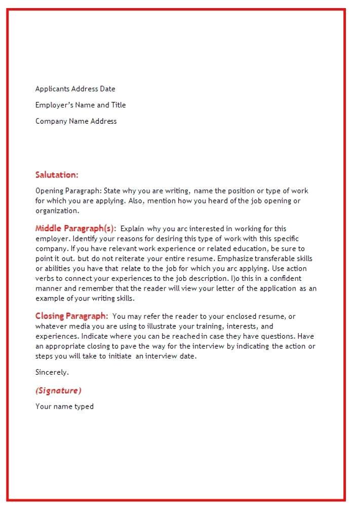 good cover letter for warehouse job