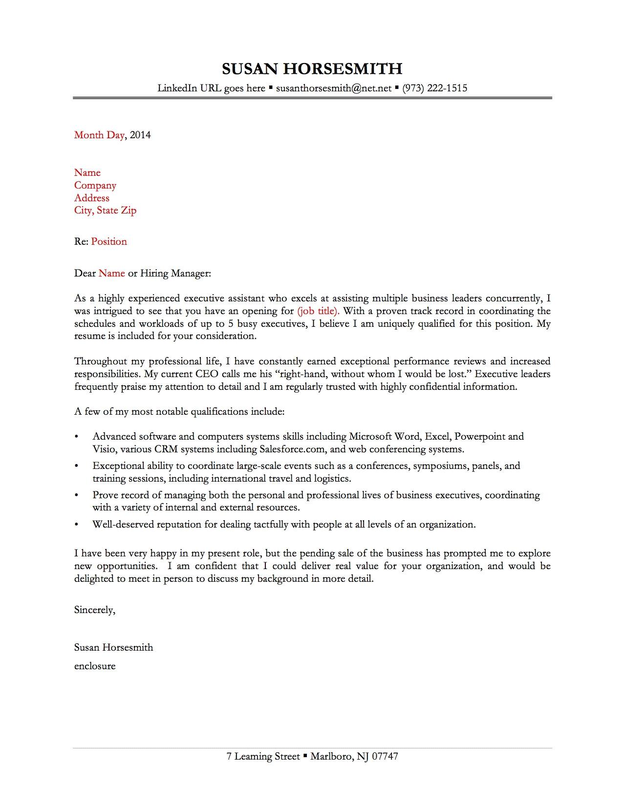 Good Cover Letters for Cv 13 Great Sample Cover Letters Samplebusinessresume Com