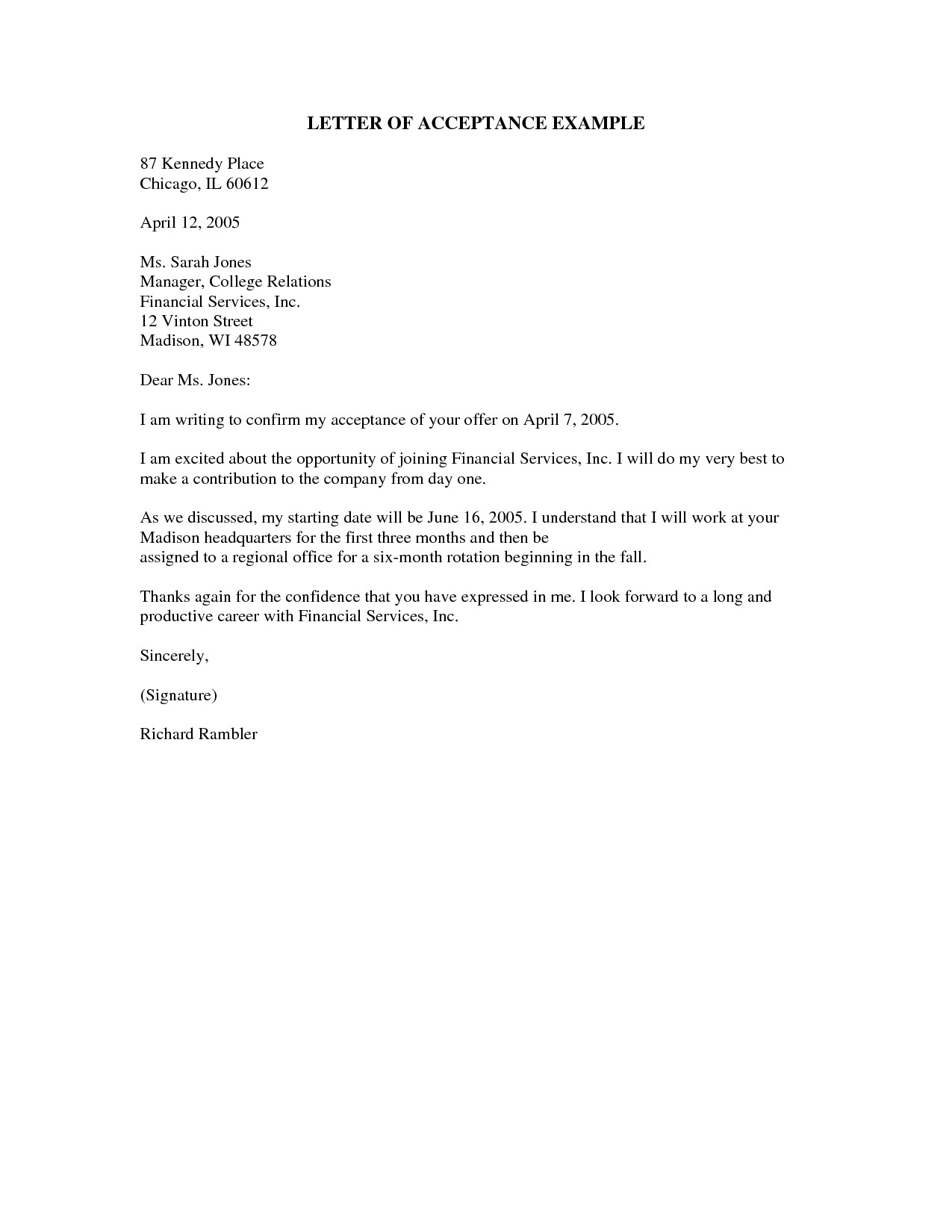 Good News Letter Template Business Good News Letter Example Letters Free Sample
