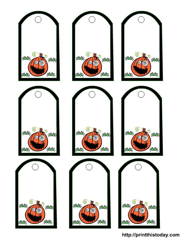 post printable halloween tags 21157