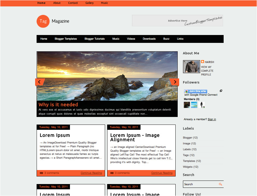 best free blogger templates