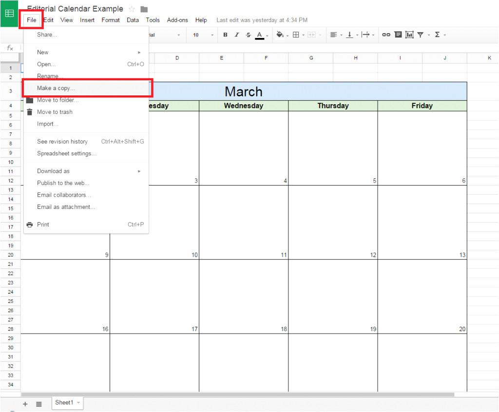 Google Docs Calendar Template 2014 Edit Calendar Template Best Of 15 Sample Editorial