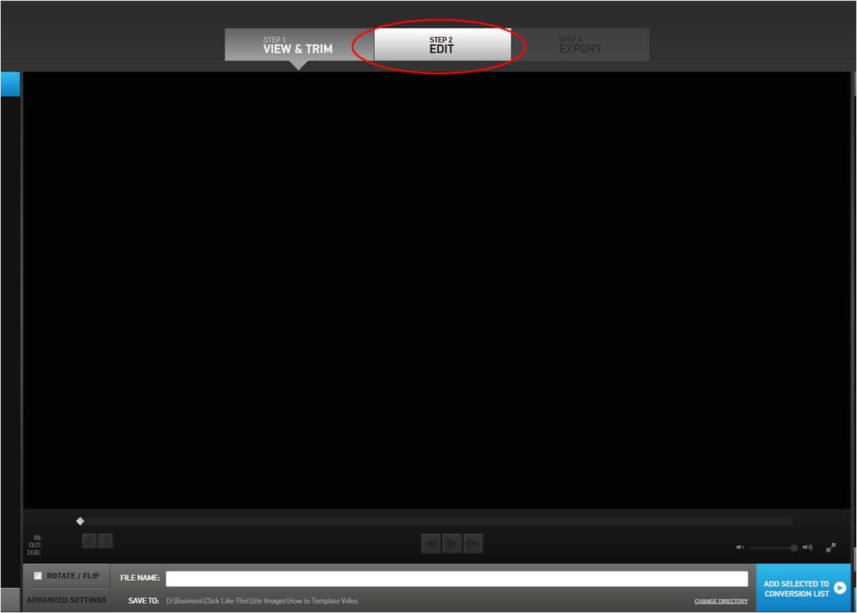 download gopro edit templates