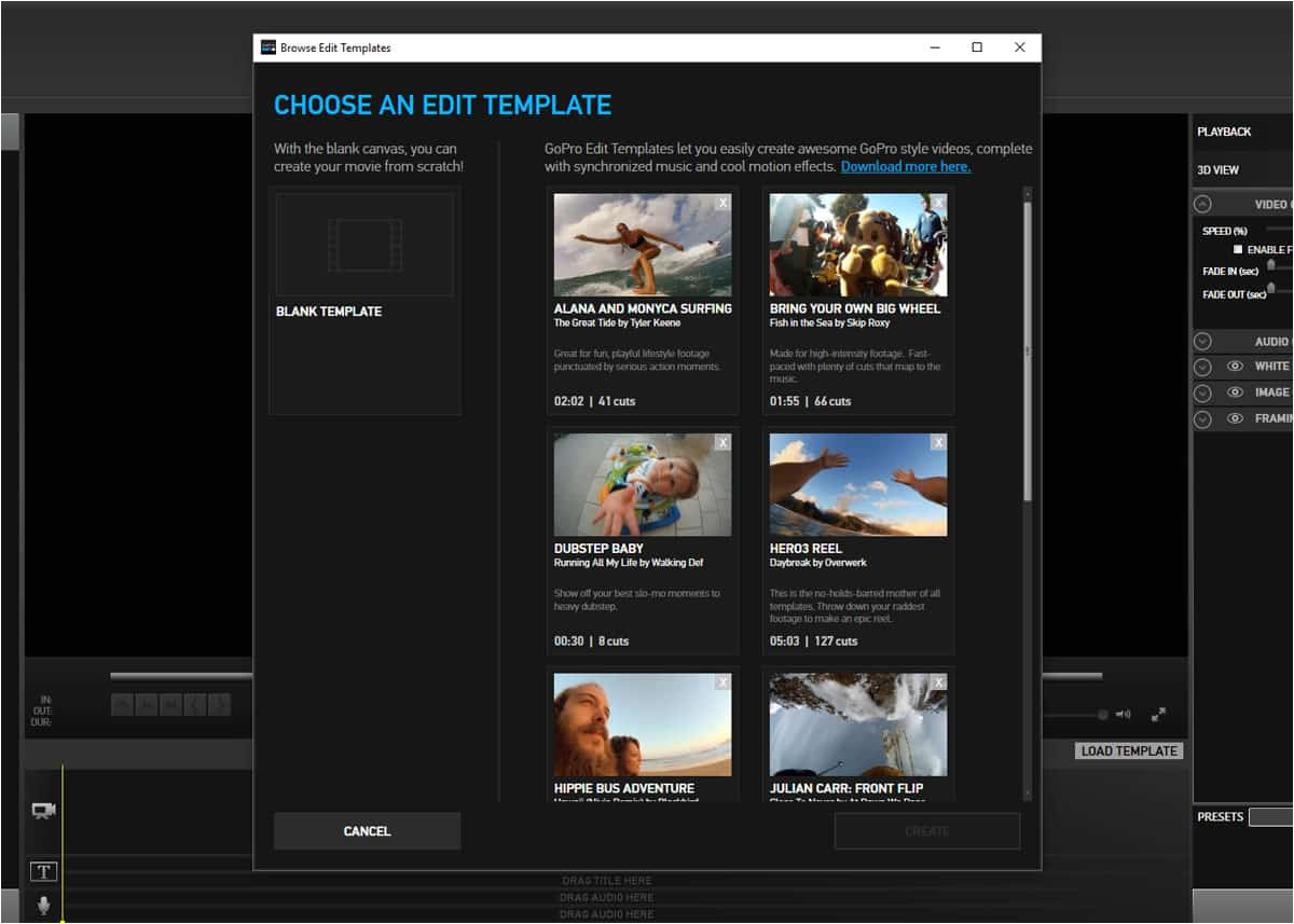 Gopro Studio Templates Download How to Download More Gopro Edit Templates Click Like This