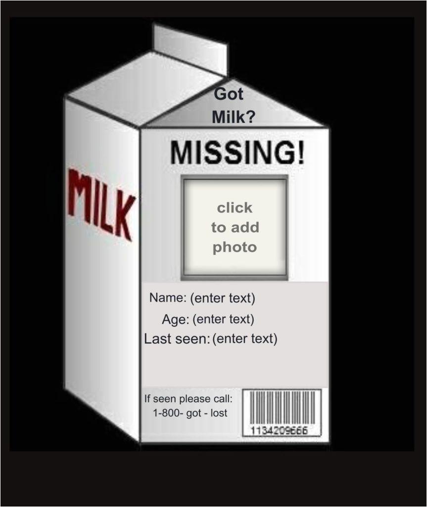 got milk template