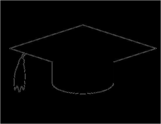 graduation cap pattern
