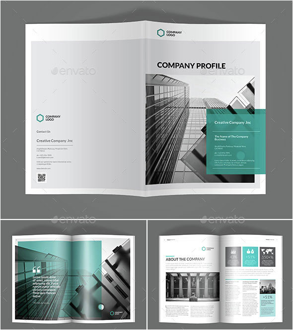 Graphic Design Company Profile Template 30 Awesome Company Profile Design Templates Web