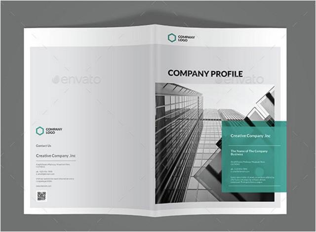 company profile design template