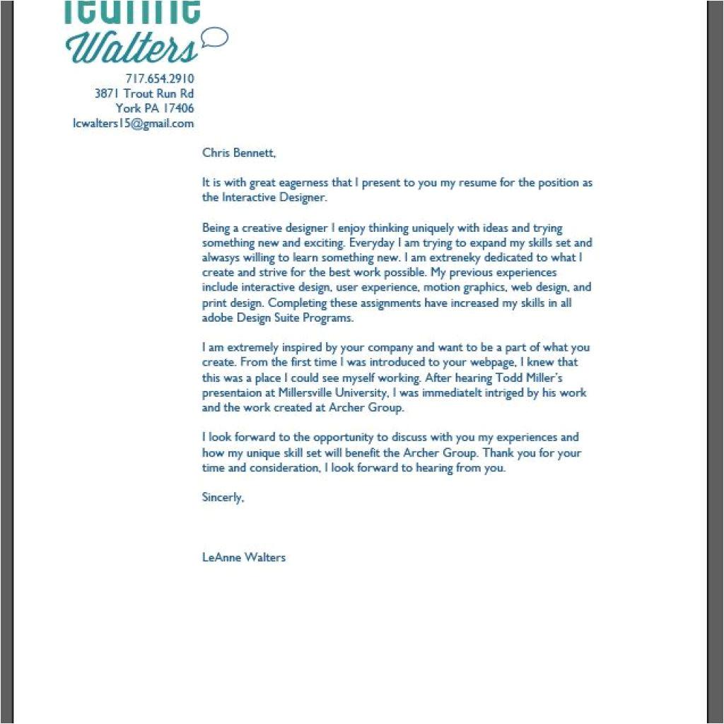 Graphic Designer Covering Letter Graphic Design Cover Letter