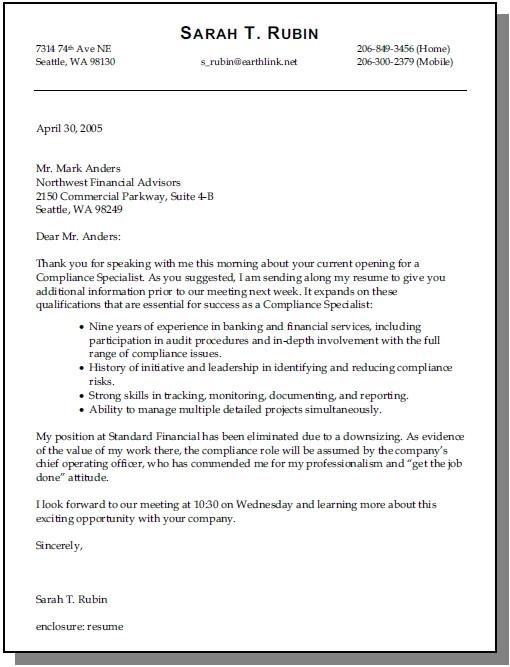 cover letter opener
