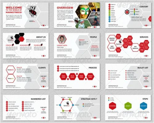 creative and good looking powerpoint slides