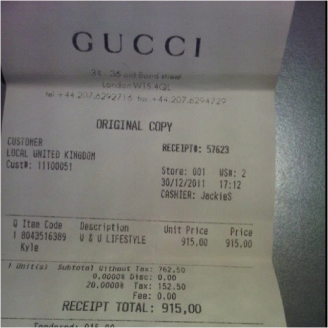 view receipts page 45