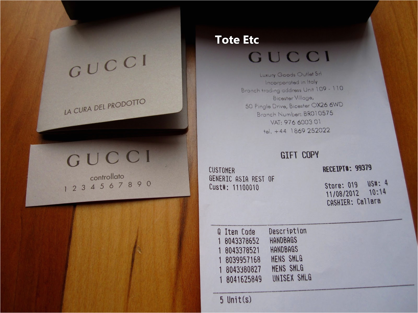 gucci receipt template 222
