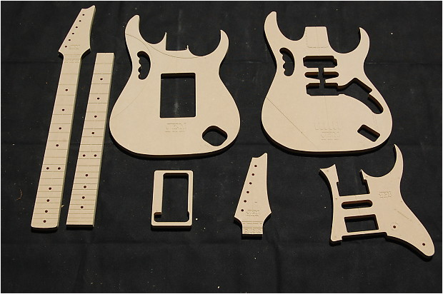 2817710 jem 777 guitar router template set 1 2 mdf cnc luthier building tools