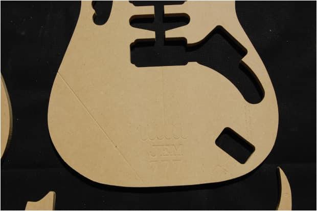 Guitar Router Templates Jem 777 Guitar Router Template Set 1 2 Quot Mdf Cnc
