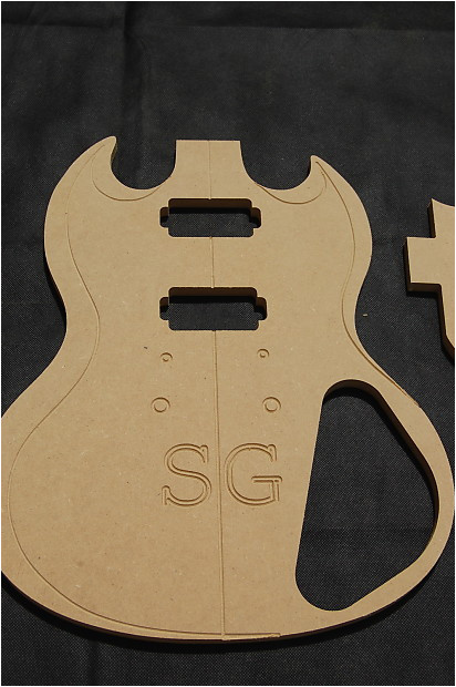 2773594 sg guitar router template set 1 2 mdf cnc luthier building tools