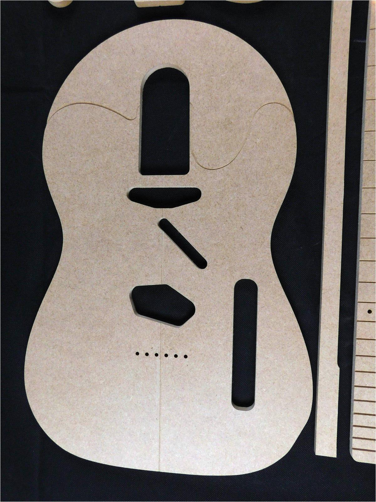 Guitar Templates Uk Telecaster Guitar Template Set