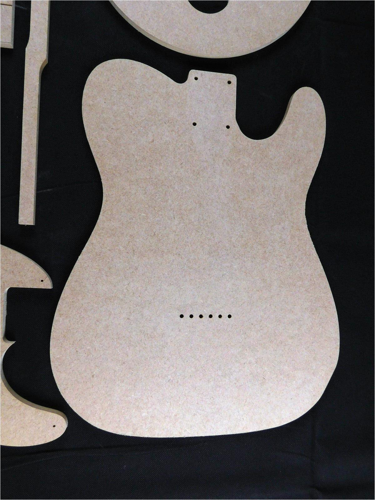 telecaster guitar template
