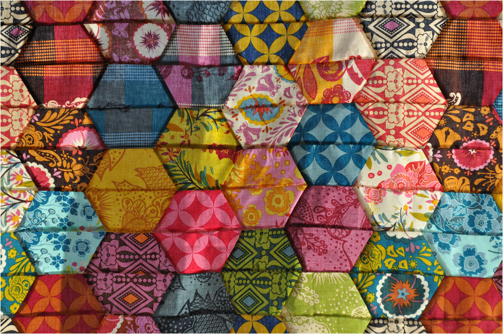 half hexagon quilt pattern shtml
