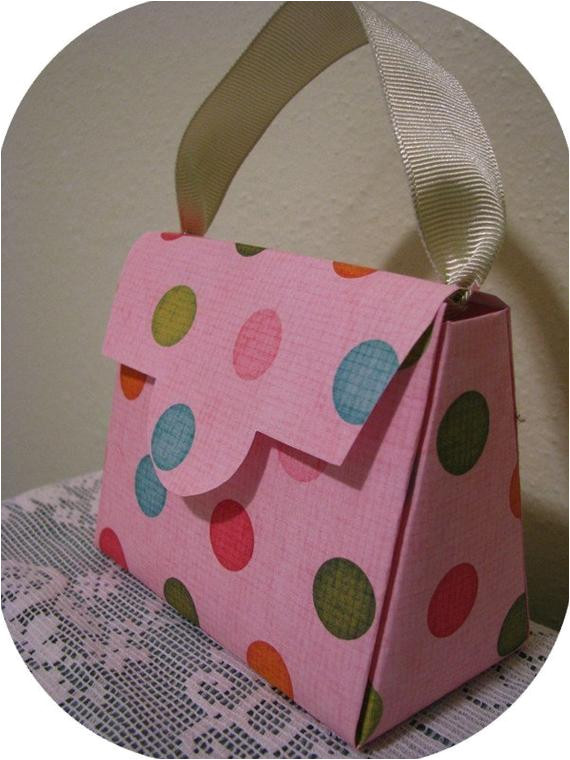 purse gift box and party favor pattern