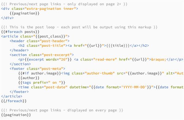 Handlebars Template Tutorial Website Development Page 30
