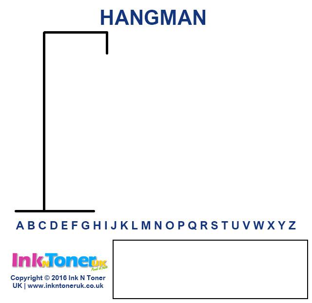 free printable hangman